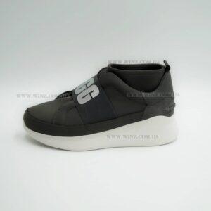 Женские кроссовки Ugg Neutra Logo Panel Sneakers серый