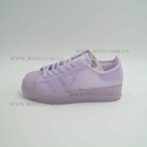 Женские кроссовки adidas Originals Superstar Jelly пурпур